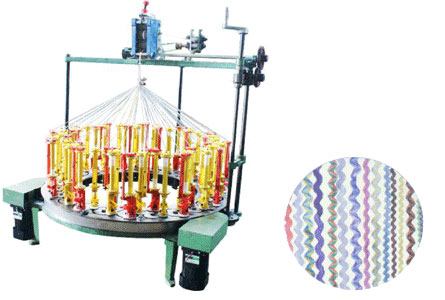 100DH-Flat-Rope-Middle-Speed-Braiding-Machines