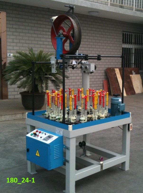 GX180_24spindle_nylon_rope_braiding_machine