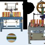 XD130 Series High Speed Round Rope Braiding Machine